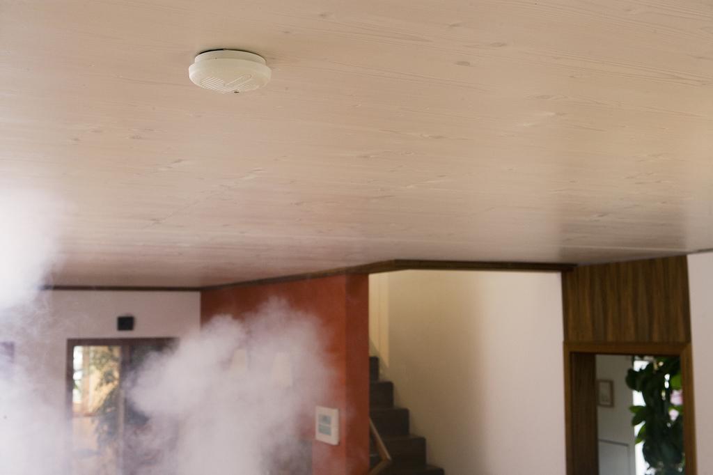 Rauchwarnmelder im Einsatz